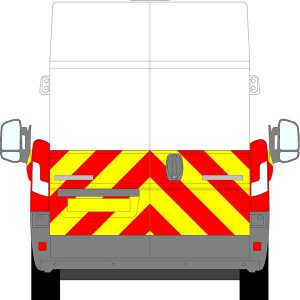 Fiat Ducato H3 Chevrons Extra High Roof 2006 - Present (Half/Engineering)