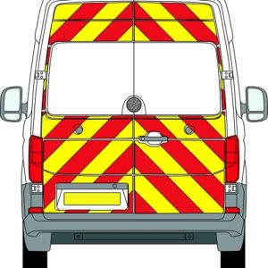 Volkswagen Crafter New H2 Chevrons High Roof 2017 - Present (Three Quarter/Prismatic)