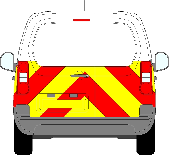 Citroen Berlingo Chevrons 2008 - Present (Half/Engineering)