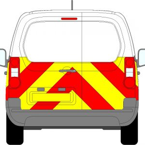 Citroen Berlingo Chevrons 2008 - Present (Half/Prismatic)