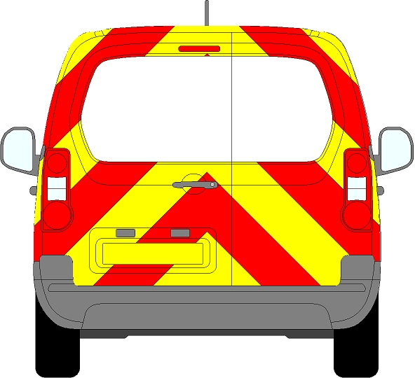 Citroen Berlingo Chevrons 2008 - Present (Three Quarter/Engineering)