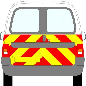 Citroen Berlingo Chevrons 2003 - 2012 (Half/Prismatic)