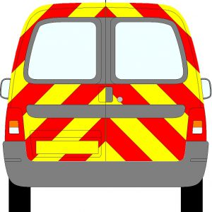 Citroen Berlingo Chevrons 2003 - 2012 (Three Quarter/Prismatic)