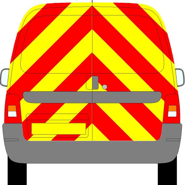 Citroen Berlingo Chevrons 2003 - 2012 (Full/Prismatic)