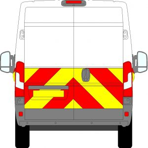 Citroen Relay H2 Chevrons Medium Roof 2006 - Present (Half/Prismatic)