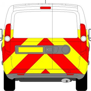 Fiat Doblo H1 Chevrons Low Roof 2010 - Present (Half/Prismatic)
