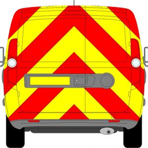 Fiat Doblo H1 Chevrons Low Roof 2010 - Present (Full/Prismatic)