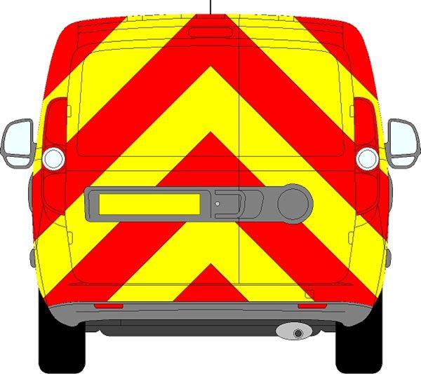 Fiat Doblo H1 Chevrons Low Roof 2010 - Present (Full/Prismatic)