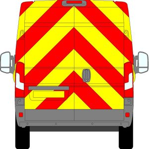 Fiat Ducato H2 Chevrons High Roof 2006 - Present