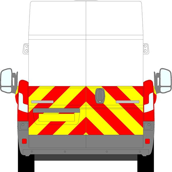 Fiat Ducato H3 Chevrons Extra High Roof 2006 - Present (Half/Prismatic)