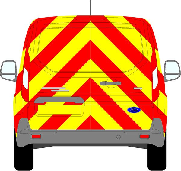 Ford Transit Connect Chevrons 2013 - Present (Full/Prismatic)