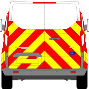Ford Transit Custom H1 Chevrons Low Roof 2012 - Present (Half/Prismatic)