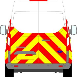 Ford Transit Custom H2 Chevrons Medium Roof 2012 - Present (Half/Prismatic)