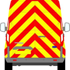 Ford Transit Custom H2 Chevrons Medium Roof 2012 - Present (Full/Prismatic)