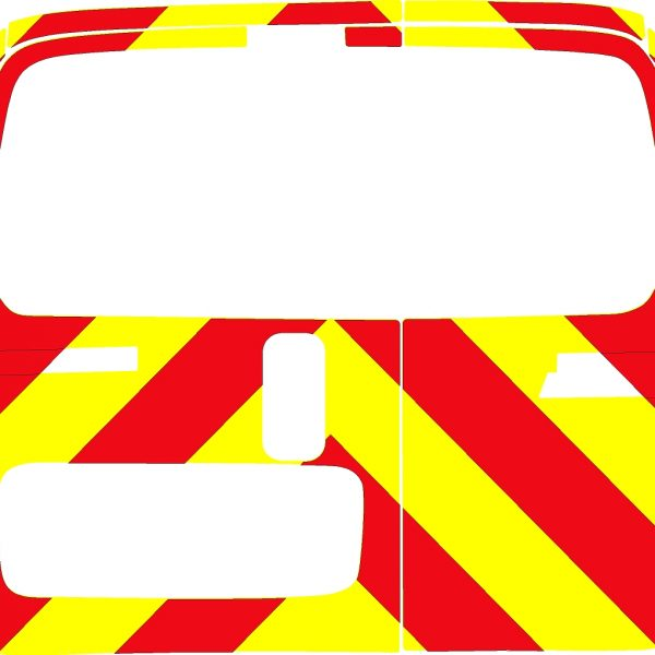 Fiat Fiorino Chevrons 2008 - Present (Three Quarter/Prismatic)