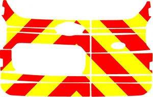 Ford Courier Chevrons 2014 - Present (Half/Prismatic)