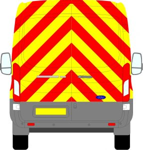 Ford Transit H2 Chevrons Medium Roof 2014 - Present (Full/Engineering)