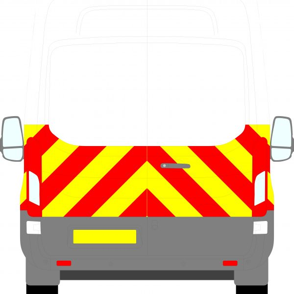 Ford Transit H3 Chevrons High Roof 2014 - Present (Half/Prismatic)