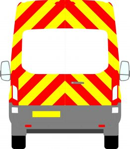 Ford Transit H3 Chevrons High Roof 2014 - Present (Three Quarter/Prismatic)