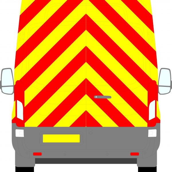Ford Transit H3 Chevrons High Roof 2014 - Present (Full/Prismatic)
