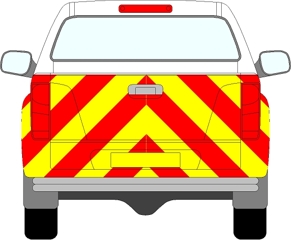 Isuzu D-Max Chevrons 2012 - 2017 (Full/Prismatic)