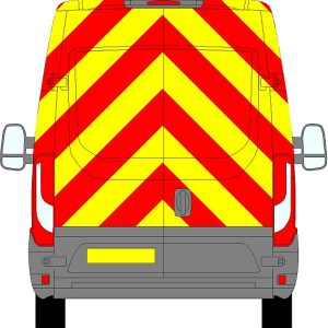 Iveco Daily H2 Chevrons Medium Roof 2014 - Present