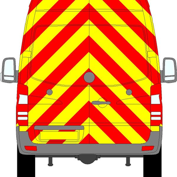 Mercedes Sprinter H2 Chevrons High Roof 2009 - 2018
