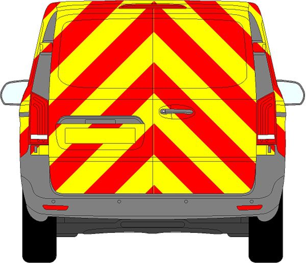 Mercedes Vito Chevrons 2015 - Present (Full/Prismatic)