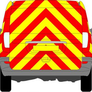 Mercedes Vito Tailgate Chevrons 2003 - 2014 (Full/Prismatic)
