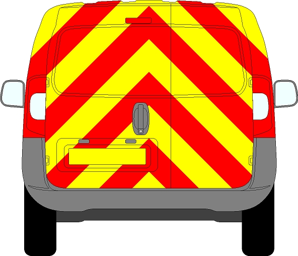 Mercedes Citan Chevrons 2012 - Present (Full/Prismatic)