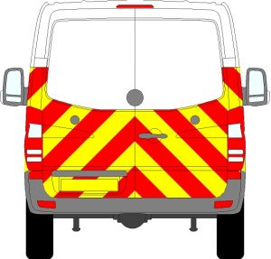 Mercedes Sprinter H1 Chevrons Standard Roof 2009 - 2018 (Half/Engineering)