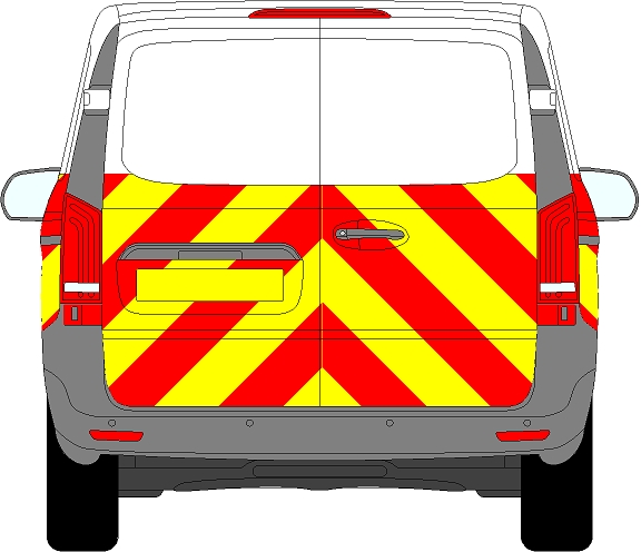 Mercedes Vito Chevrons 2015 - Present (Half/Engineering)