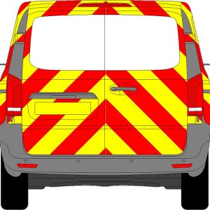 Mercedes Vito Chevrons 2015 - Present (Three Quarter/Prismatic)