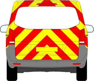 Mercedes Vito Tailgate Chevrons 2015 - Present (Three Quarter/Engineering)