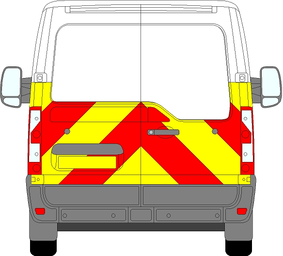 Nissan NV400 H1 Chevrons Low Roof 2012 - Present