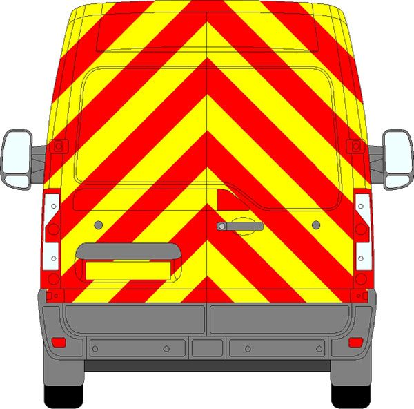 Nissan NV400 H2 Chevrons Medium Roof 2012 - Present (Full/Prismatic)