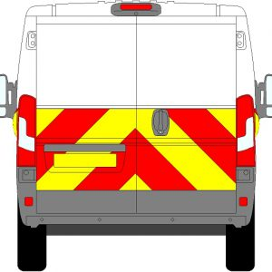 Peugeot Boxer H1 Chevrons Low Roof 2006 - Present (Half/Engineering)