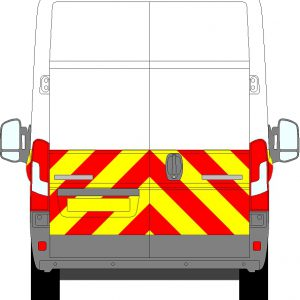 Peugeot Boxer H3 Chevrons High Roof 2006 - Present