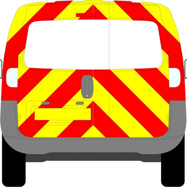 Peugeot Bipper Chevrons 2008 - Present (Three Quarter/Prismatic)
