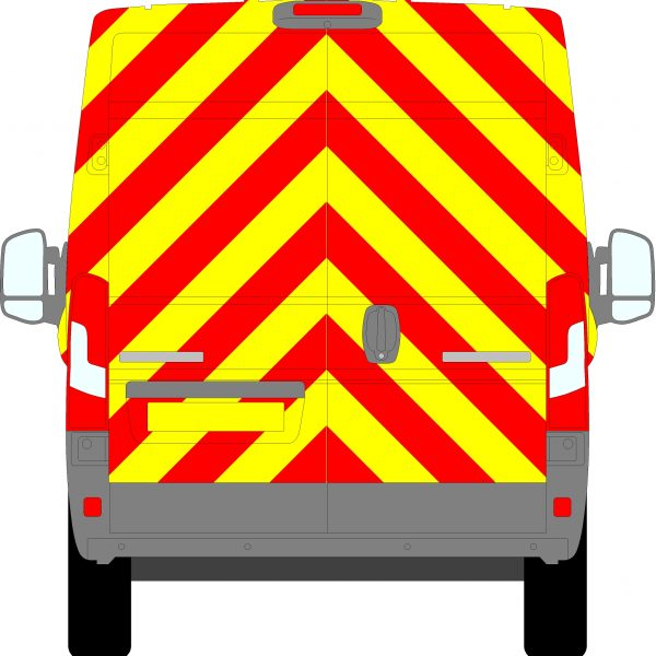 Peugeot Boxer H2 Chevrons Medium Roof 2006 - Present (Full/Prismatic)