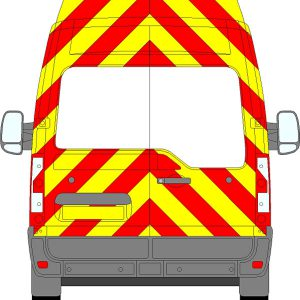 Renault Master H3 Chevrons High Roof 2010 - Present (Three Quarter/Prismatic)