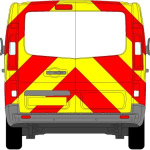 Renault Trafic Chevrons 2014 - Present (Three Quarter/Prismatic)