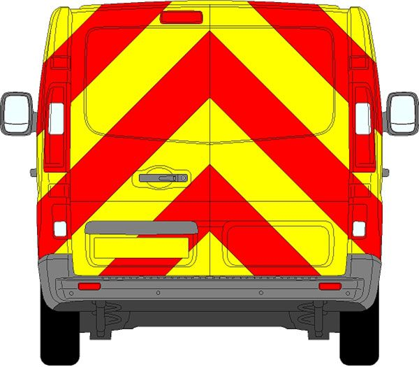 Renault Trafic Chevrons 2014 - Present (Full/Engineering)