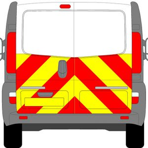 Renault Trafic Chevrons 2008 - 2014 (Half/Engineering)