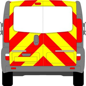 Renault Trafic Chevrons 2008 - 2014 (Three Quarter/Engineering)