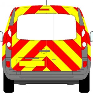 Renault Kangoo Chevrons 2009 - Present (Three Quarter/Engineering)