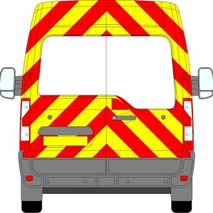 Renault Master H2 Chevrons Medium Roof 2010 - Present (Three Quarter/Prismatic)