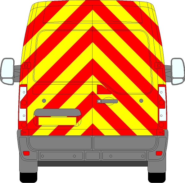 Renault Master H2 Chevrons Medium Roof 2010 - Present (Full/Prismatic)