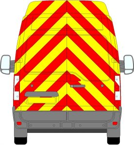 Renault Master H3 Chevrons High Roof 2010 - Present (Full/Prismatic)