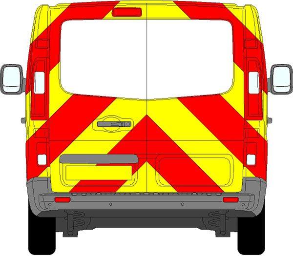 Vauxhall Vivaro Chevrons 2015 - Present